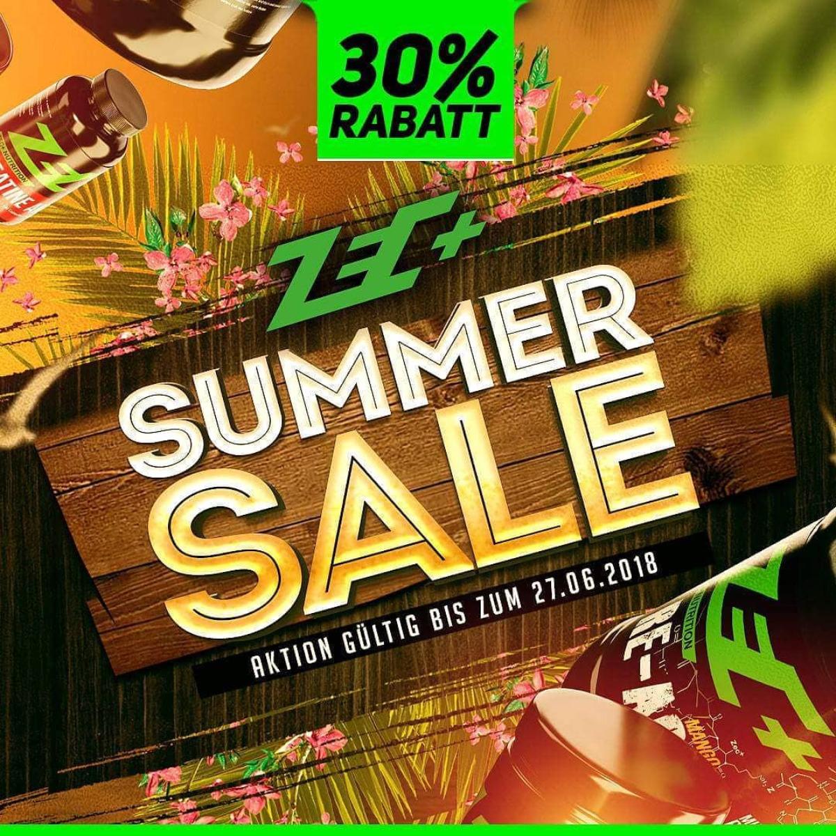 Zec+ Summer Sale 30% auf alles