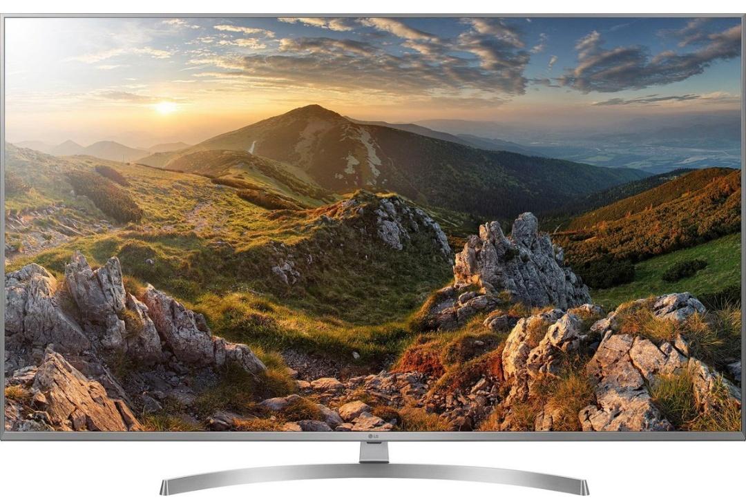 LG 49UK7550LLA LED-Fernseher 123 cm (49 Zoll), UHD 4K, HDR 10 Pro, Smart TV, LED TV, True Motion 100, 2400 PMI