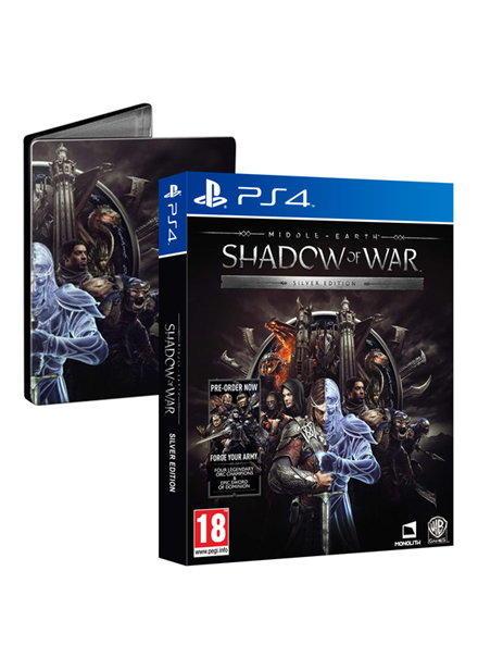 Mittelerde: Schatten des Krieges Silver Edition inkl. Steelbook & Forge Your Army DLC (PS4 & Xbox One) für je 22,52€ (Shopto)