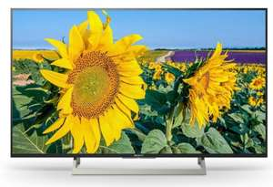 "KD-55XF8096 BAEP 55"" (139cm) 4K HDR-Fernseher mit 4K X-Reality PRO, TRILUMINOS und Android TV, Preis inkl. Sony Cashback"
