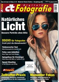 """[Heise] c't Digitale Fotografie (2 Ausgaben Print) mit 10€ Amazon-Gutschein + Sonderheft """"Meisterklasse Bildbearbeitung"""" für 14,60 €"""