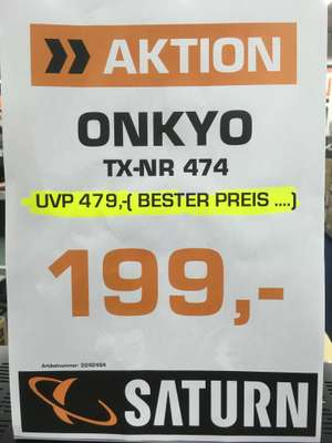 Onkyo TX-NR 474 Saturn Essen Limbecker Platz