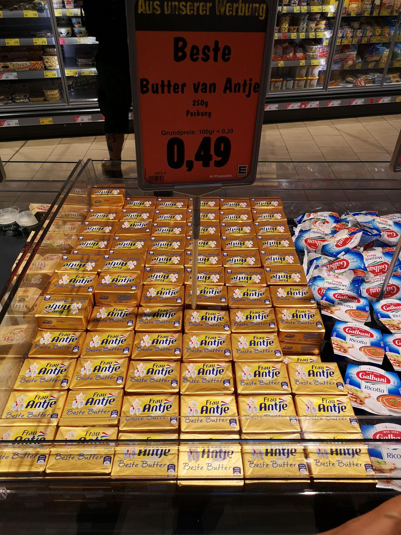 Edeka (Hagen/altenhagen) antje butter 0.49€ statt 2.29€