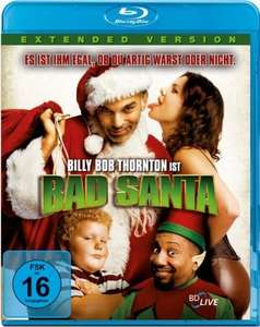 Bad Santa - Extended Version (Blu-ray) für 3,92€ & Money Monster (Blu-ray) für 4,15€ (Dodax)