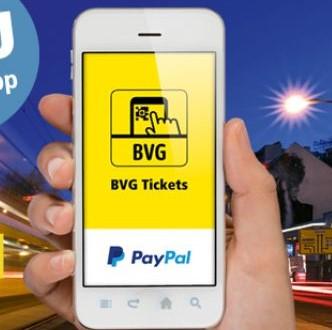 [BVG Berlin] 5€ geschenkt bei Zahlung mit PayPal in der BVG Ticket App