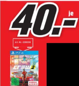 [Regional Mediamarkt Mülheim] The Crew 2 - [PlayStation 4] für 40,-€ // MICROSOFT Xbox Wireless , Controller, Schwarz für 35,-€