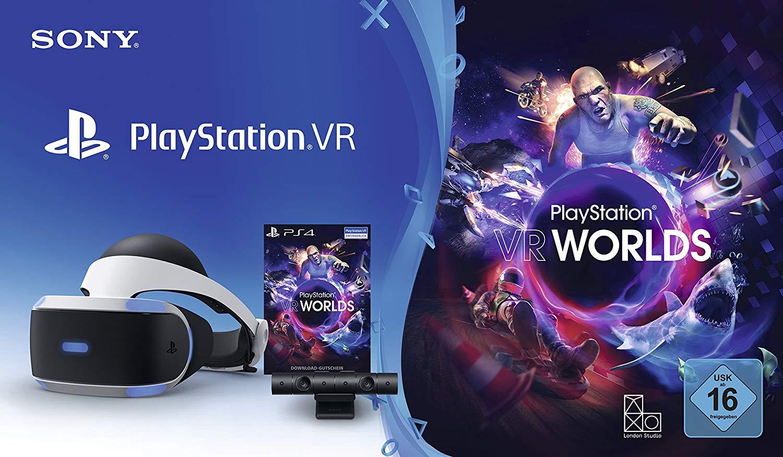PlayStation VR + Camera + VR Worlds Voucher  - Amazon Warehouse