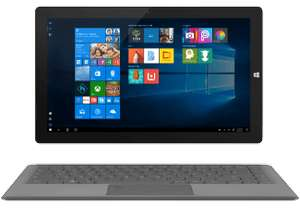 TREKSTOR Primetab T13B Convertible/13.3Zoll/64GB/4GB RAM/N3350/USB-C/5Ghz Wlan/Win10/M.2 SSD optional/Office365