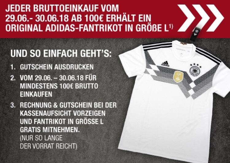 [Metro Lokal] Gratis Deutschlandtrikot bei einem Einkauf in Höhe von 100€