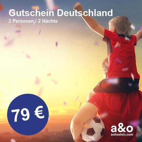 a&o  Hotel-Gutscheine zur Fußball-Weltmeisterschaft