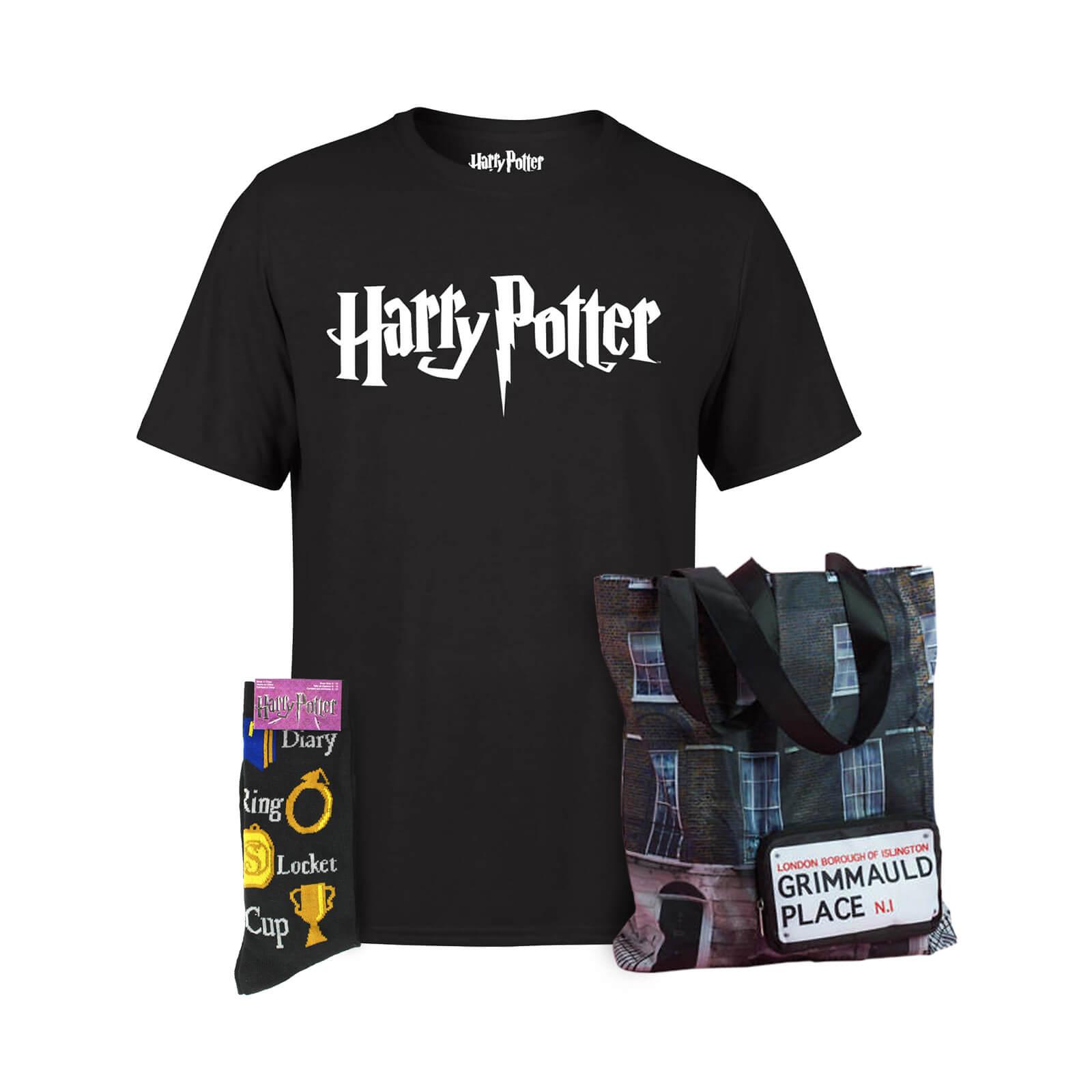 Harry Potter T-Shirt + Tasche + Socken für 18,48€ (Zavvi)