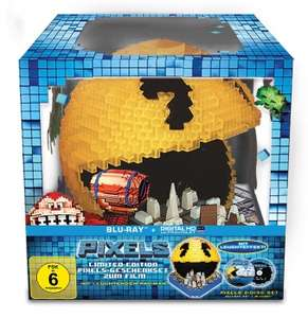 Pixels 3D Limited Pacman Cityscape Edition  (3D Blu-ray + 2D + UV Copy) für 24,94€ (Alphamovies)