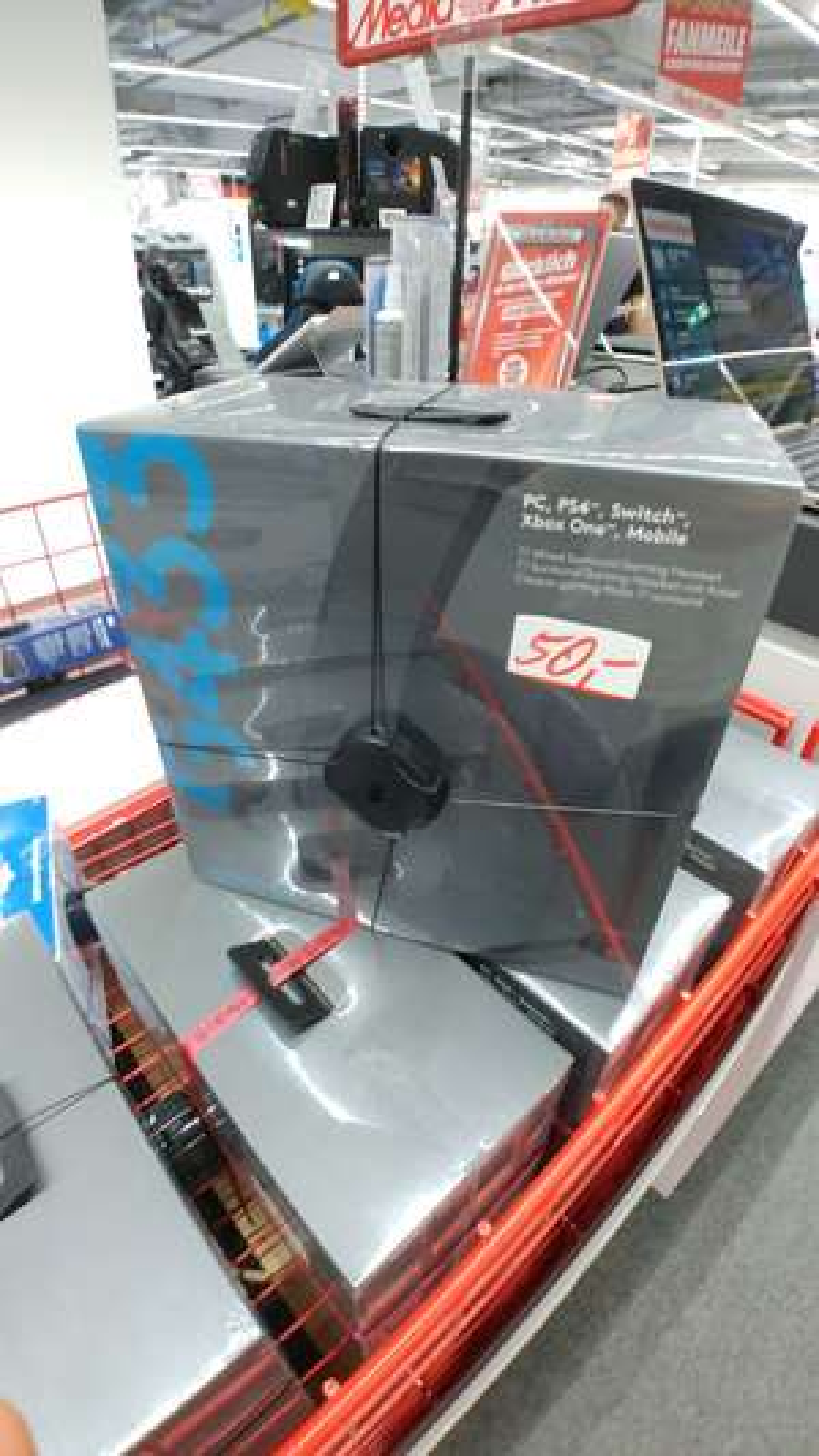 Logitech G433 Media Markt Lokal Dresden Abverkauf Centrum-Galerie 50 Euro Gaming Headset