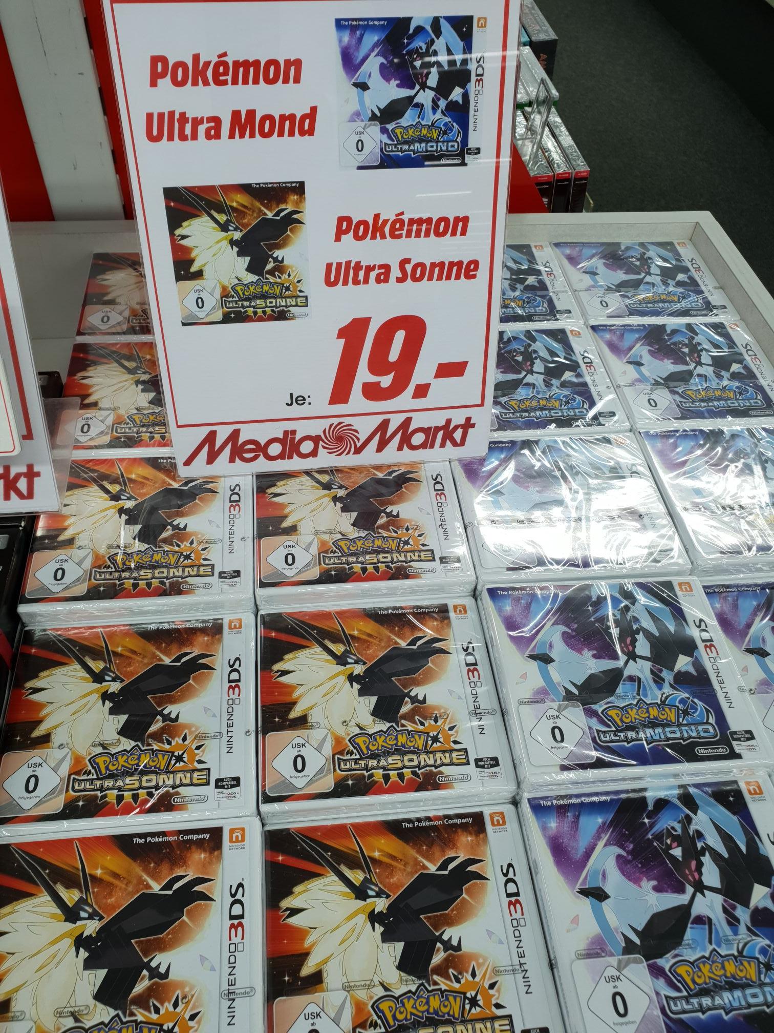 (Lokal MM Herzogenrath) Pokemon Ultrasonne Ultramond 19 Euro