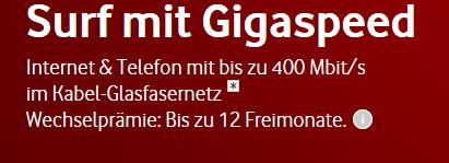 Vodafone Cable Internet, Phone und TV für 16,65 effektiv - Saturn Leipzig HBF Wiedereröffnung nach Umbau *Update*