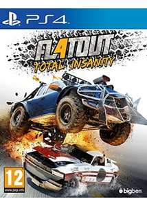 FlatOut 4: Total Insanity (PS4) für 14€ (Base.com)