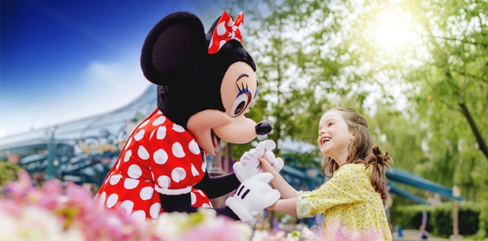 3 Tage Eintritt Disneyland Paris + 2 Nächte im Disney Hotel p. Person/4