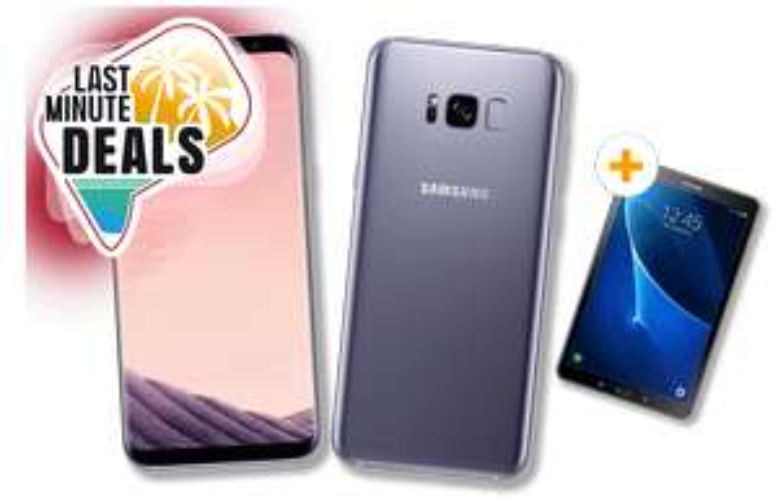 otelo Allnet-Flat Comfort 6GB für 24,99€ + Samsung Galaxy S8 Plus + Samsung Galaxy Tab A 10.1 Wifi 2016