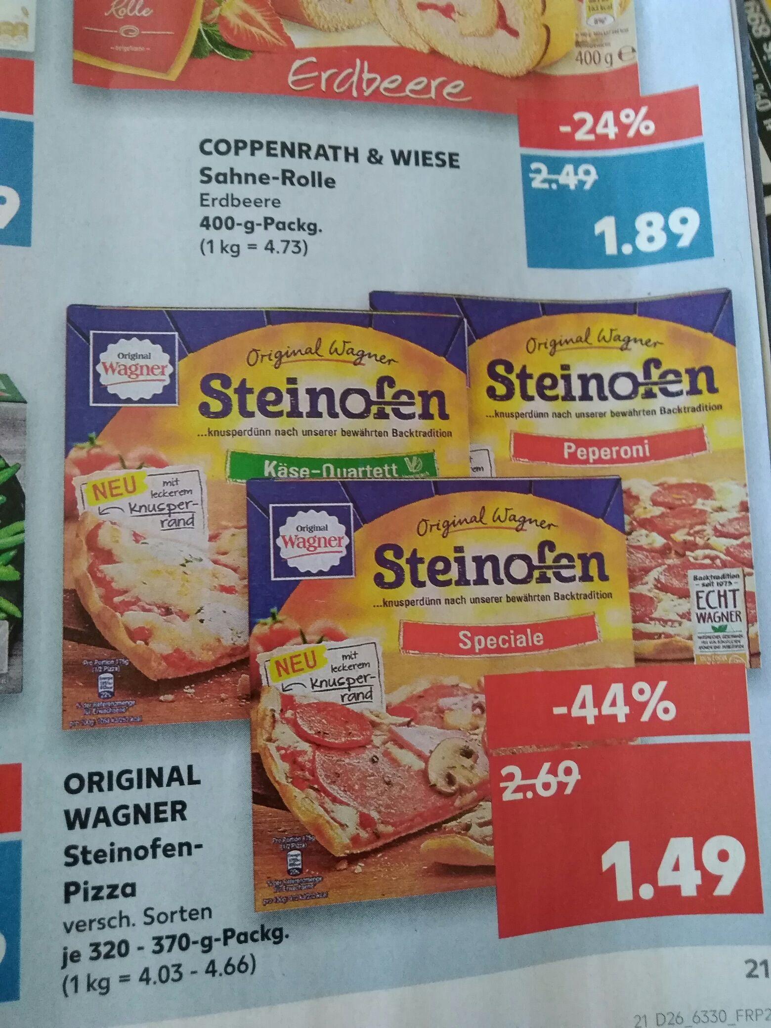 [Kaufland] Ab Do 28.06. Wagner Steinofen Pizza