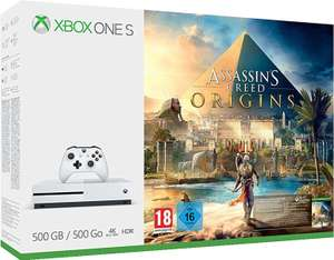 Xbox One S 500GB - Assassin's Creed Origins Bundle für 169€ inkl. Versand [Amazon]