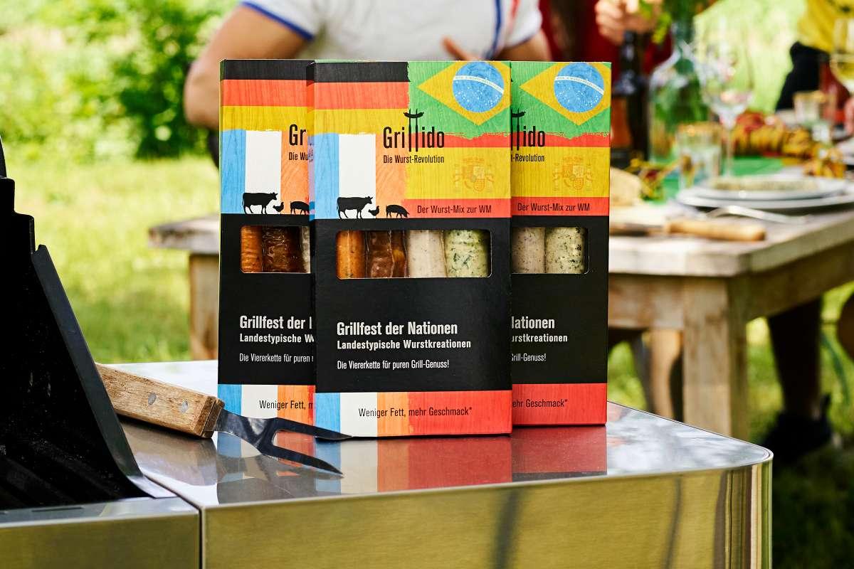 Deal 3 vom Telekom Mega-Deal für Grillido (Grillfest-Mix | 4er Pack) Mix Würstchen für Telekom Kunden