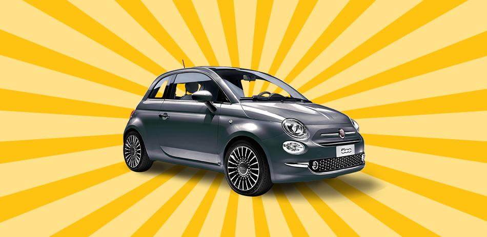 Fiat 500 Pop Star 1.2 8V mit Automatik Barkauf (Privatleasing für 99€ / Monat, 48 Monate Laufzeit, 10.000 km / Jahr)