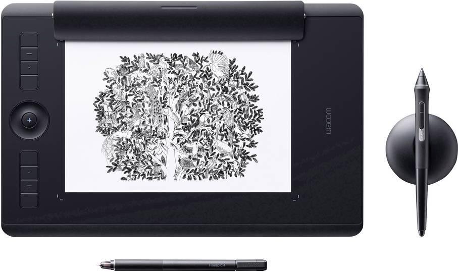 Wacom Intuos Pro Paper Medium Rev. 2 Grafiktablet inkl. Wacom Finetip Pen
