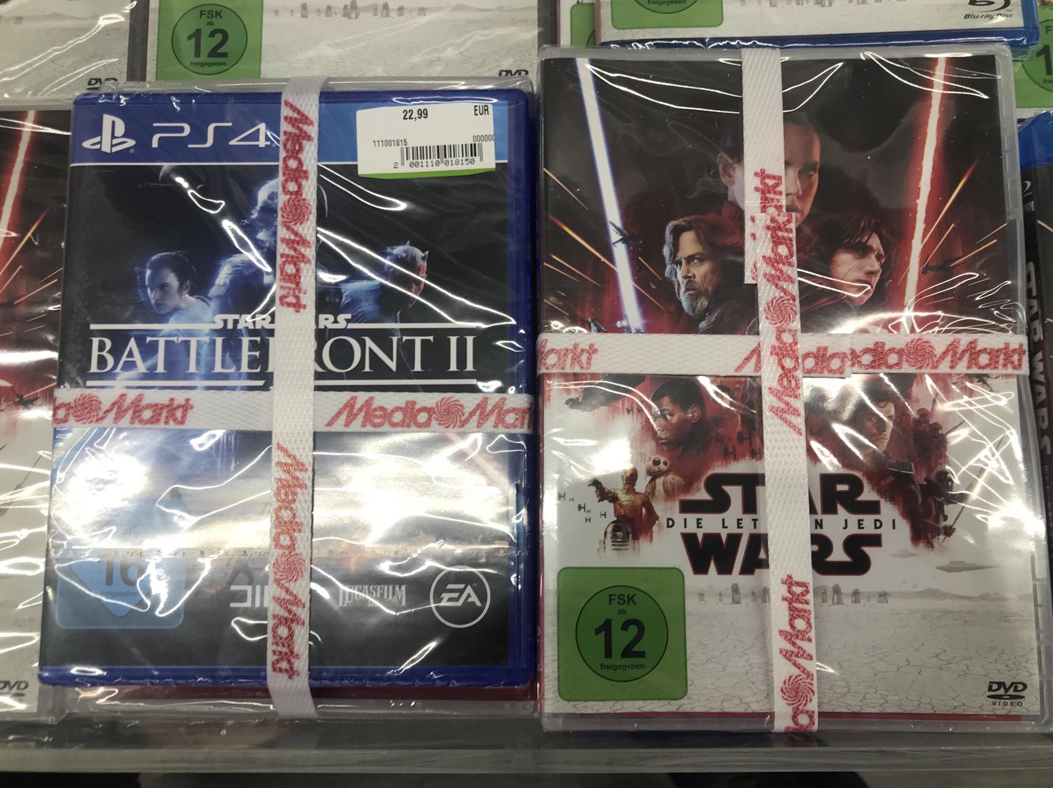 [LOKAL Media Markt Henstedt-Ulzburg] Star Wars Battlefront 2 + DVD Die letzten Jedi