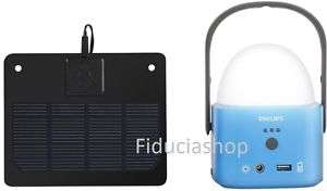 Philips SOLAR Laterne + powerbank