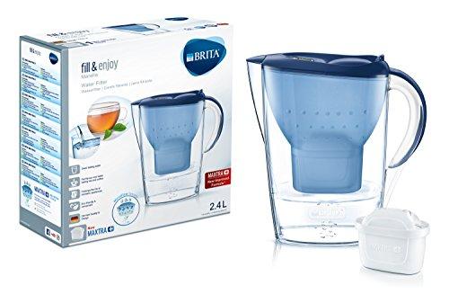 Brita Wasserfilter Marella, inkl. 1 Maxtra+ Filterkartusche Blau