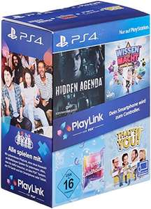 PlayLink Bundle (Wissen ist Macht, Hidden Agenda, SingStar Celebration & That's You!) (PS4) für 15,99€ (Amazon Prime)