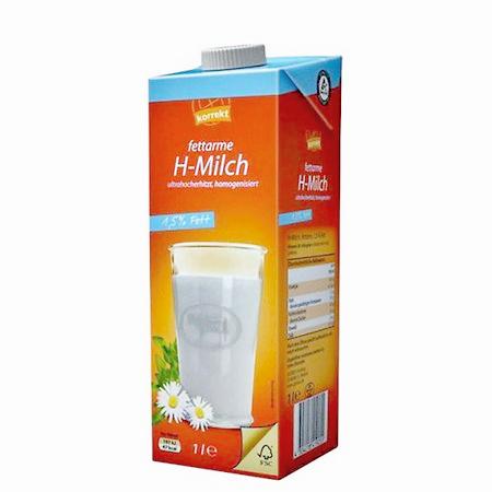[Globus] 1 Liter 'korrekt' Eigenmarken-H-Milch 1,5% Fett Gratis-Coupon in der Post
