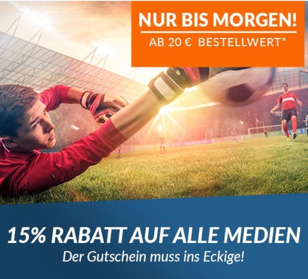 15% auf Medien bei reBuy MBW 20€