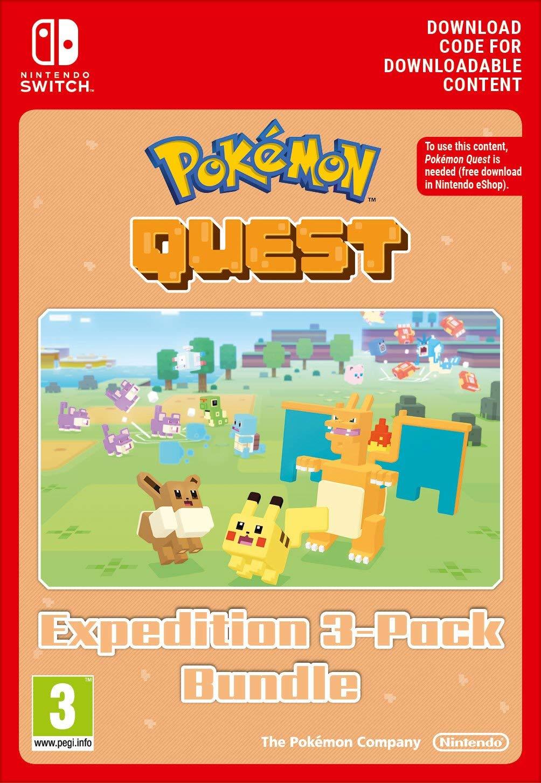 Pokémon Quest DLC - Triple Expedition Pack (Nintendo Switch) - 3,40 Euro statt 29,99 Euro