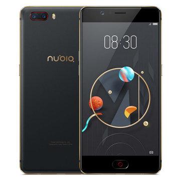 Nubia M2 Global 5.5 Zoll AMOLED 4GB RAM 64GB ROM SD 625 Smartphone Schwarz aus Deutschland