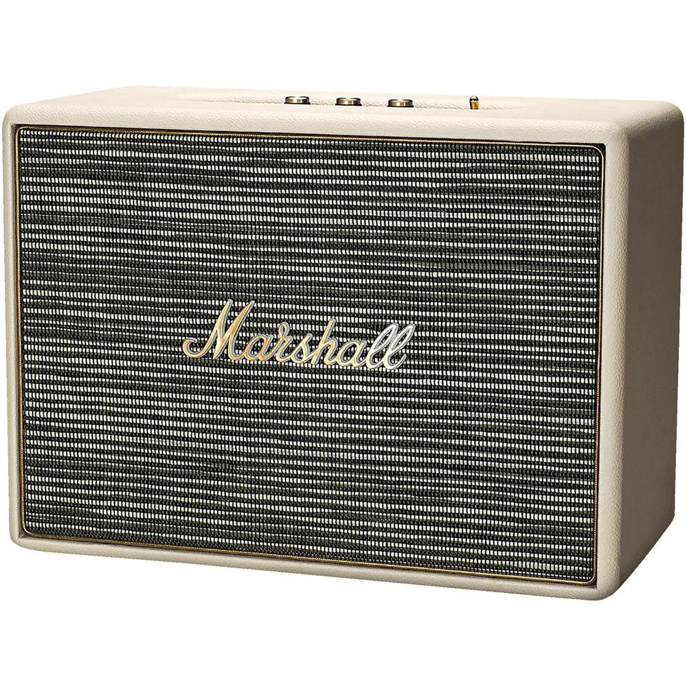 [saturn / saturn@eBay / amazon] MARSHALL Woburn  - Bluetooth Lautsprecher (max. 90 Watt, AUX In, RCA,  aptX) in creme für 259€ bzw. 233,10€ mit eBay-AU-Trick