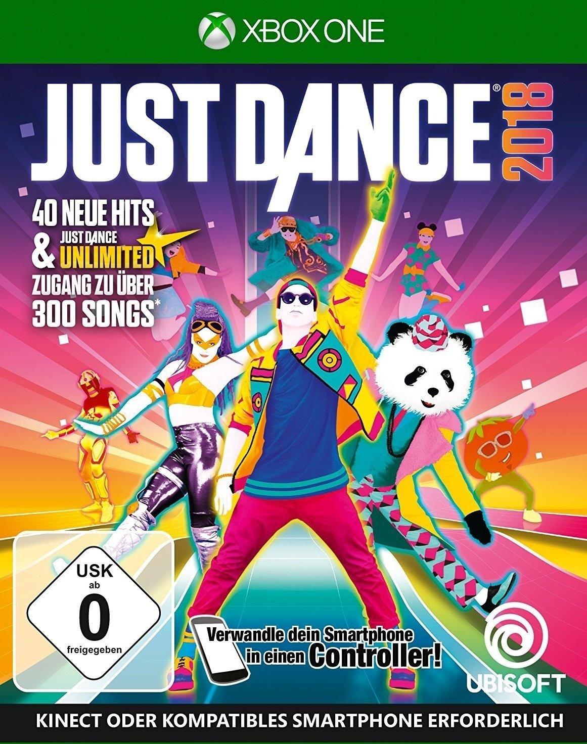 Just Dance 2018 (Xbox One) für 22,98€ bzw. 18,38€ 100 Ubisoft Punkte (Ubisoft Store)