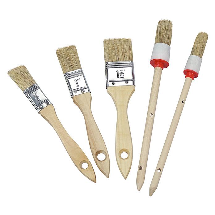 Pinselset für Malerarbeiten (5 Stück) für 2,99 Euro bei Bauhaus inkl Versand