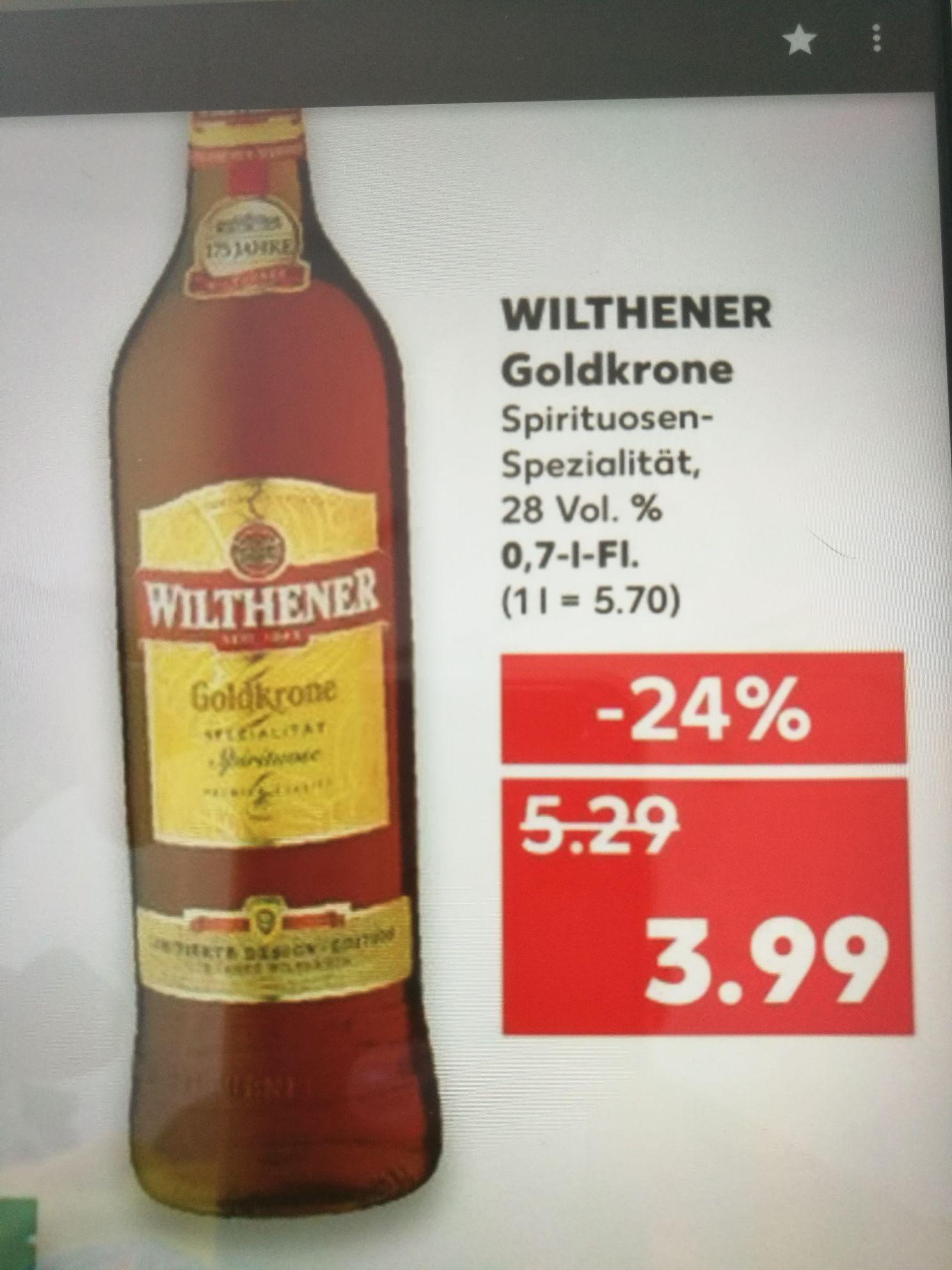 [Kaufland] Wilthener Goldkrone 0.7L Flasche