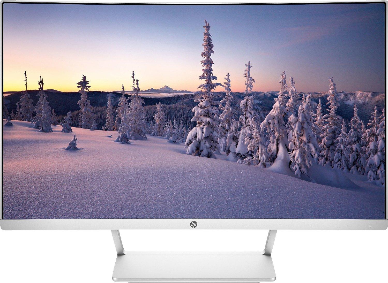 "HP 27"" curved Monitor (Full HD VA-Panel, 6bit+FRC, AMD FreeSync, 60Hz, 99% sRGB, 5ms, HDMI, DP1.2) (Modell Z4N74AA#ABB)"