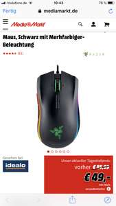 Razer Mamba Tournament Edition Gaming 16.000DPI