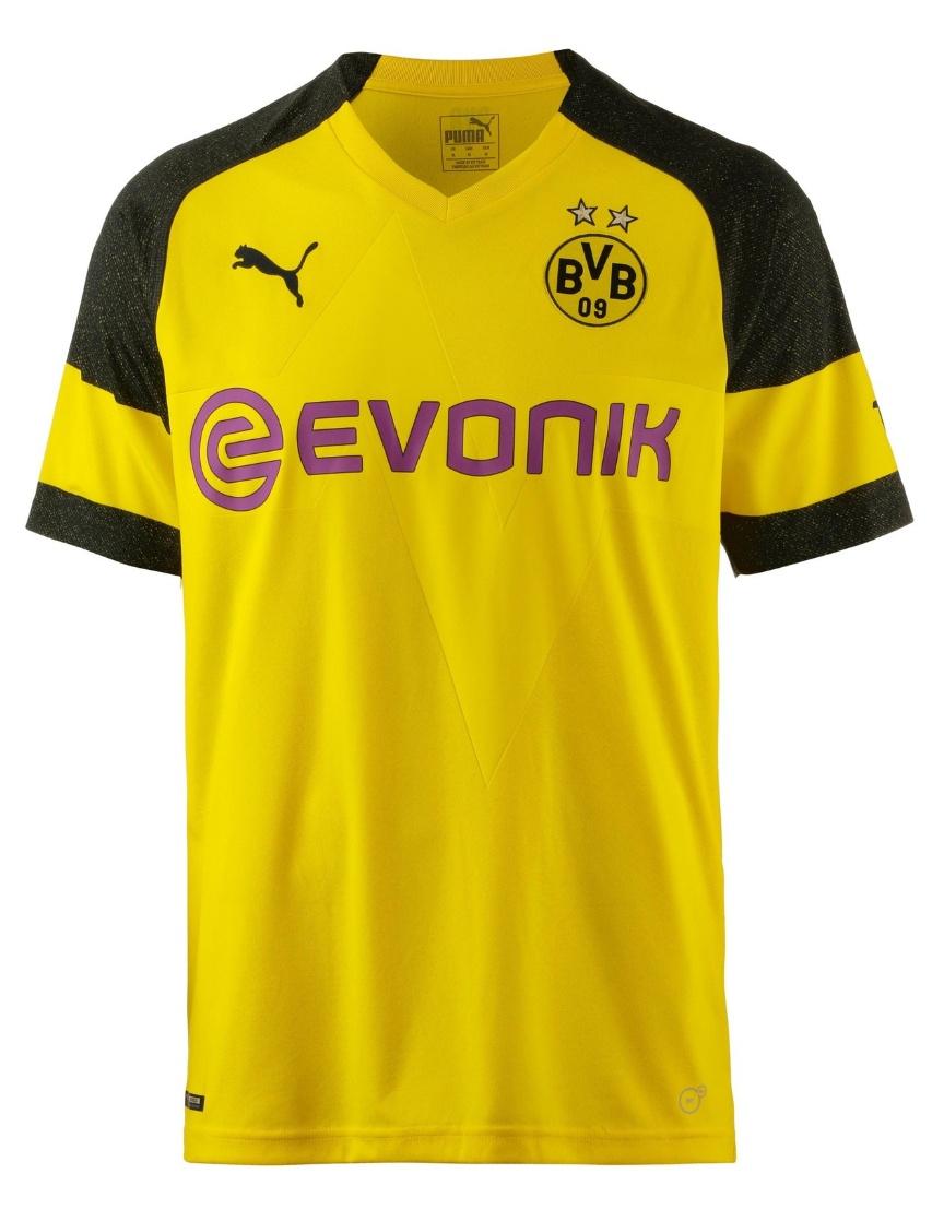 Puma BVB Borussia Dortmund Herren Heimtrikot Home Trikot 2018/2019 M - XXXL - 753310-01