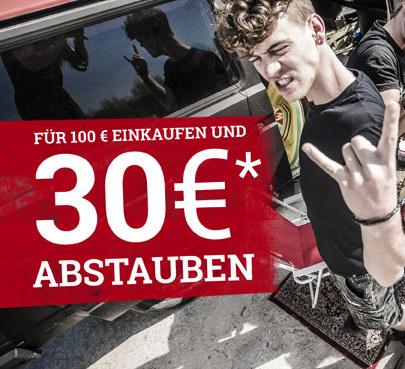 EMP 100€ einkaufen und 30€ bekommen