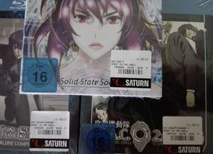 [Saturn Hamburg] Ghost in the Shell Mediabook 4,99€, Stand Alone Complex, SAC 2nd GIG je 14,99€, SAC SSS 4,99€