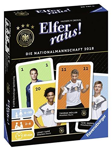 Ravensburger Kartenspiel ELFER RAUS! DIE NATIONALMANNSCHAFT 2018