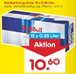 [Netto MD] 12er Red Bull Tray als Samstags Kracher 30.06.18