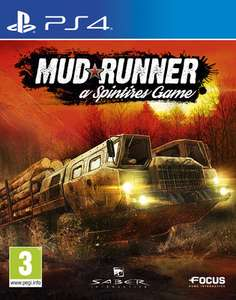 Mudrunner: a Spintires Game (PS4 & Xbox One) für je 20,19€ (ShopTo & Base.com)