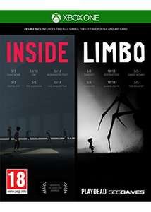 Inside & Limbo Double Pack (Xbox One) für 16,14€ (Base.com)