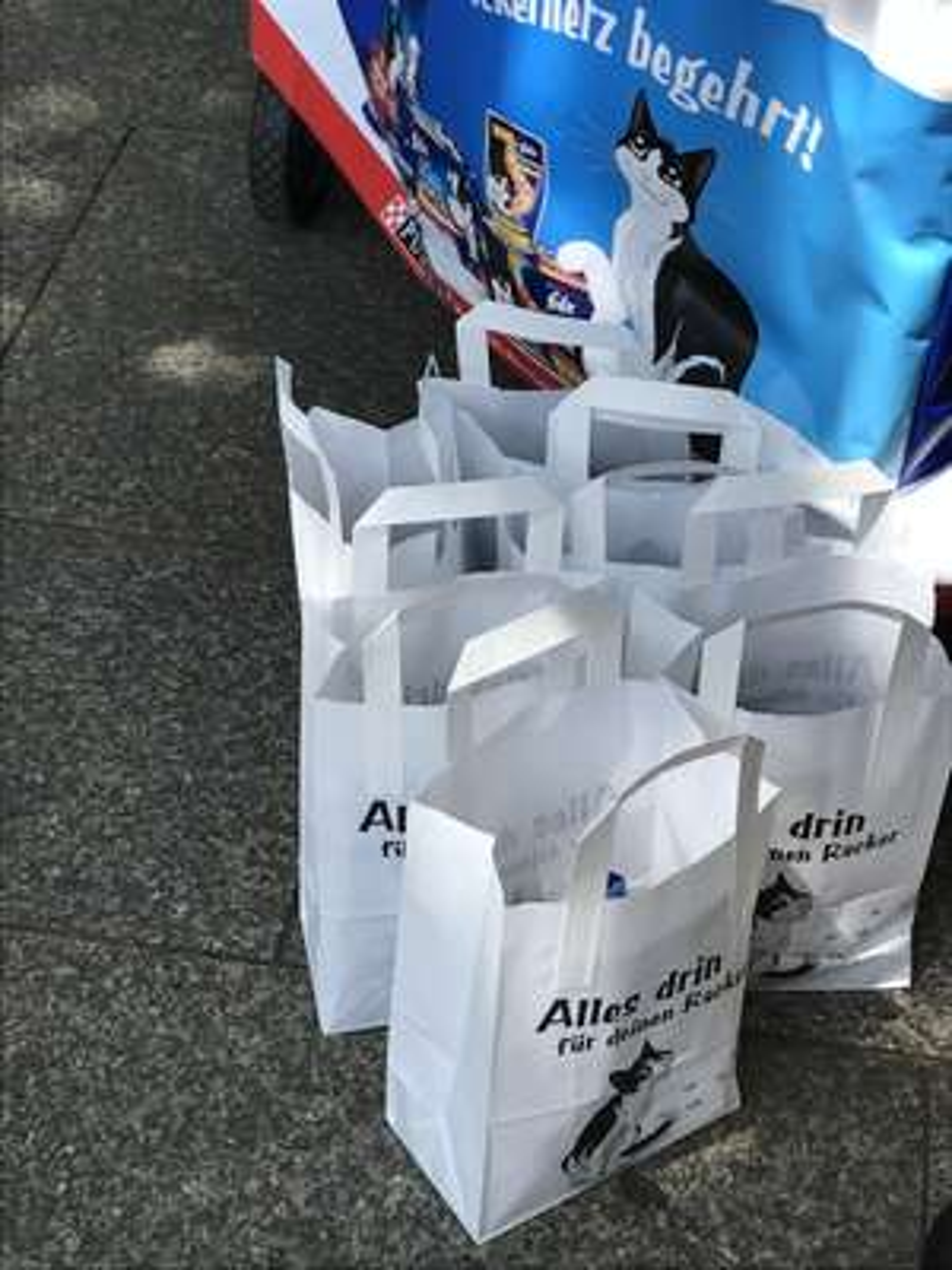 [Lokal](Köln HBF) kostenloses Katzenfutter