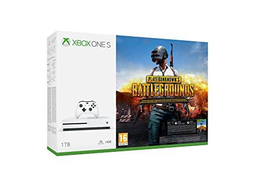 Microsoft Xbox One S 1TB + Playerunknown's Battlegrounds für 188,26€ (Amazon.es)